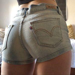 Pants - Levi's Denim Shorts